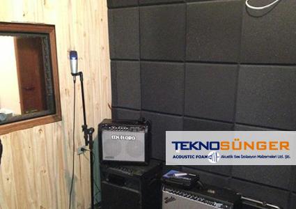 Akustik Düz Sünger Ses Yalıtımı