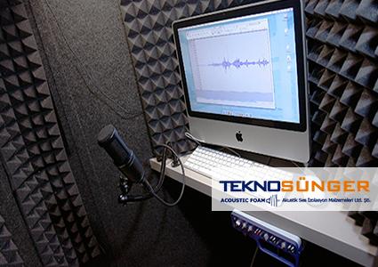 Akustik Piramit Sünger Ses İzolasyonu