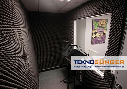 Akustik Yumurta Sünger Ses İzolasyonu