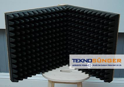Piramit Sünger Akustik Mikrofon Paneli Fiyatları